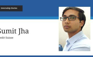Sumit Jha IFMR GSB