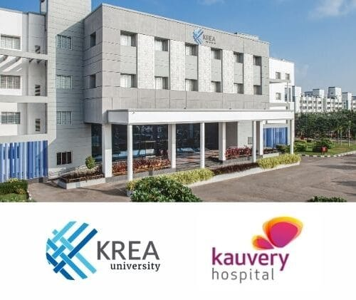 Krea partners with Kauvery Hospital