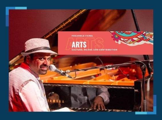 Prof Anil Srinivasan in a global dialogue on arts advocacy