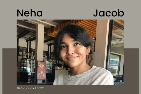 Global Scholarship Recipient Feature: Neha Jacob
