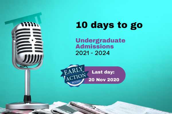 Krea University Early Action application round for UG admissions closes on 20 November 2020