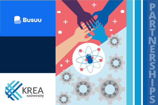 Krea partners with Busuu – world's largest social network for language learning