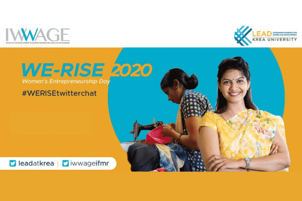 #WERiseTwitterChat – Enabling women entrepreneurship in India