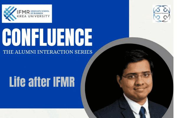 'Life after IFMR' with Giri Seshadri Ravi