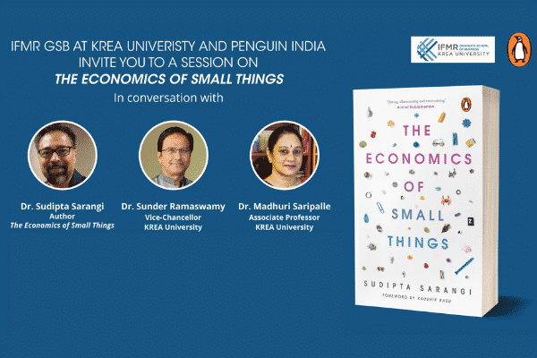E-launch of 'The Economics of Small Things'