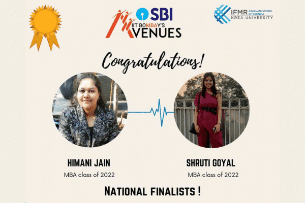 IFMR GSB students are 'Chanakya' national finalists