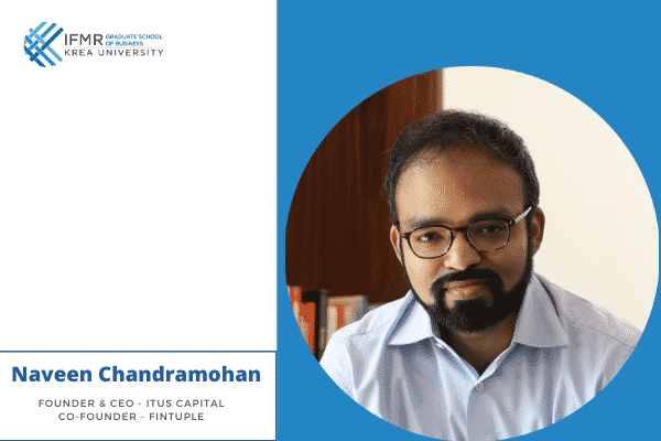 'Building a successful career' with Naveen Chandramohan