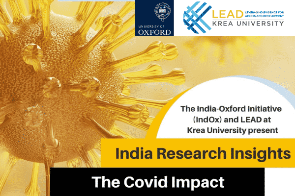 IndOx & LEAD host 'India Research Insights - The COVID Impact'