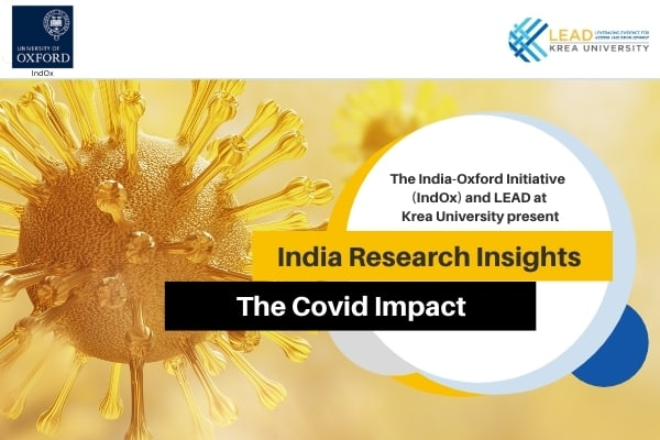 India-Oxford Initiative at University of Oxford and Krea University host Covid Impact Insights Roundtable