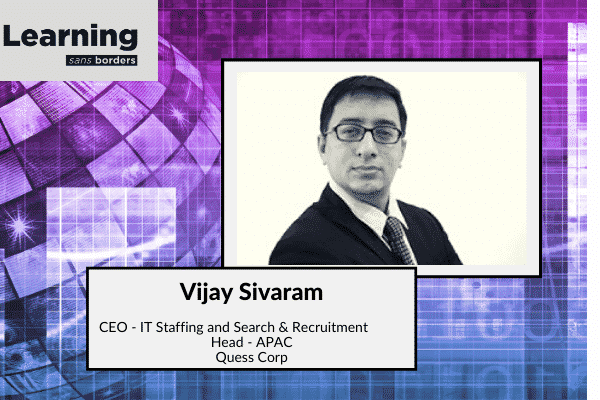 'The role of networking in the workplace' with Vijay Sivaram