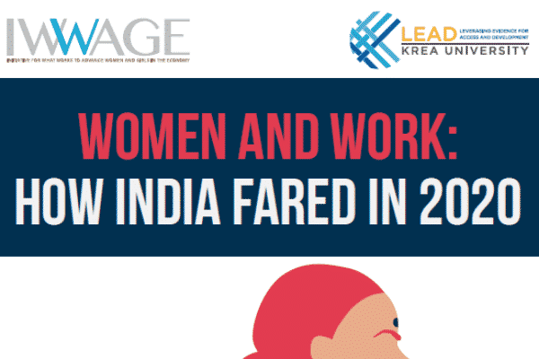 IWWAGE report captures pandemic's impact on women and girls