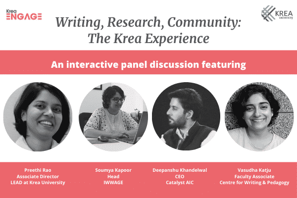 'Writing, Research, Community': Krea Engage with our research centres