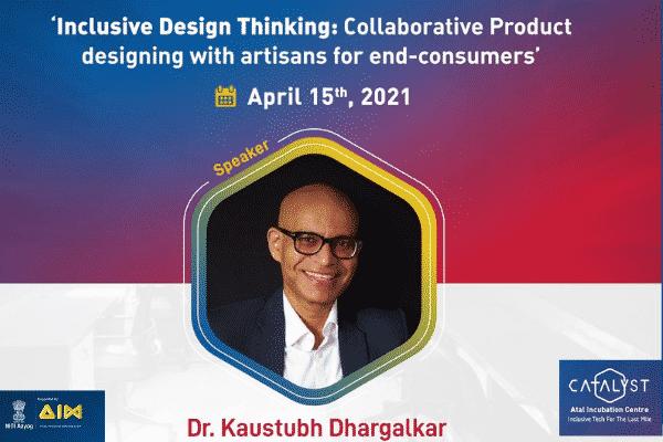 Catalyst AIC hosts Dr Kaustubh Dhargalkar for a product design workshop