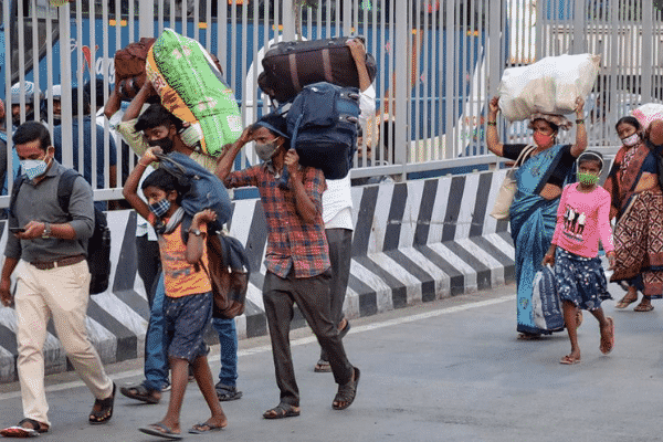 'The Indian Express' features impactful study on migrants by Yale University and the Inclusion Economics India Centre at Krea University