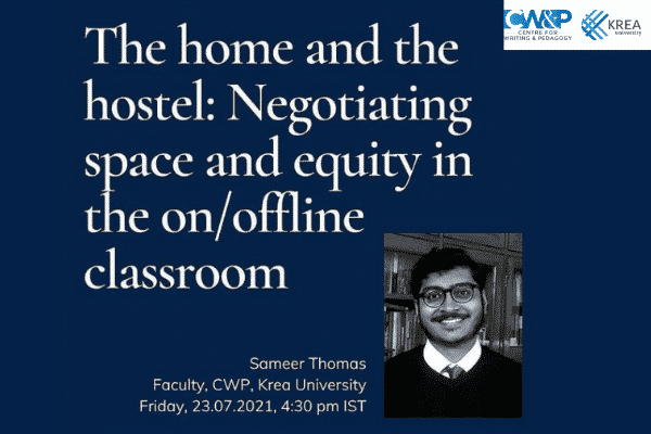 TODAY @ 4.30 PM IST: CWP's Sameer Thomas to present at a conference organised by University of Oxford