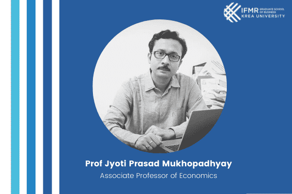 Economic & Political Weekly publishes a special article by Prof Jyoti Mukhopadhyay