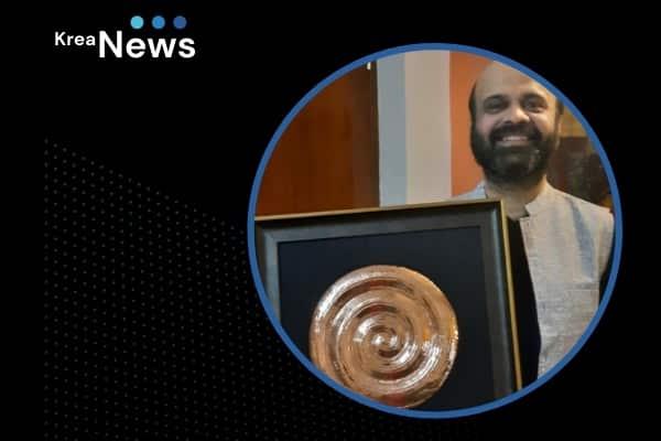 Prof Anil Srinivasan receives the 'Champion of Chennai' award!