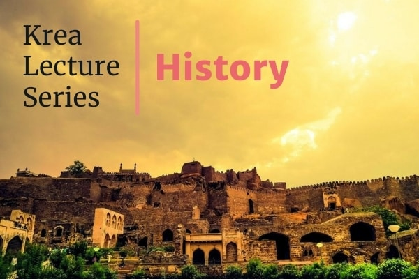'Krea Lecture Series: History' from 1 Sept